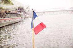 wedding boat in Paris   Image by Marjorie Prvl Photography
