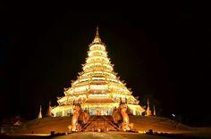 Wat huay pla kang, chiangrai