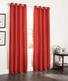 2 Pc Foam Back Window Curtains, Energy Efficient Blackout Panel, 54x90