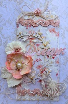 Blog MHC Shabby Tag - Dream Cathy Cafun for Manor House ♡♥
