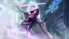 Star Wars: TCG - Mara Jade by AnthonyFoti.deviantart.com on @deviantART