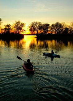 Out for an evening kayak - #kayak