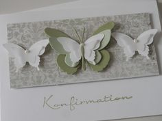 """Karte """"Konfirmation"""" 