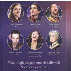 Anastasia the musical Anastasia Broadway, Anastasia Movie, Anastasia Musical, Princess Anastasia, Theatre Nerds, Music Theater, Broadway Theatre, Broadway Shows, Musicals Broadway
