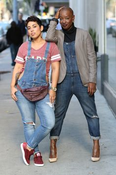 Tieko and Mimi: HOW WOULD YOU ROCK OVERALLS?