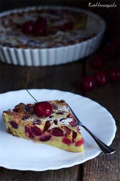 Ricettecongusto - Clafoutis alle ciliegie