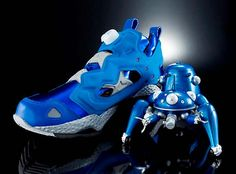 Limited Edition Reebok Insta Pump Fury Ghost In The Shell Sneakers