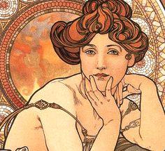Art lecture profiles Alphonse Mucha & Art Nouveau movement