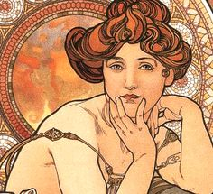 Art Nouveau was different than move art forms. It wasn't as defined in certain lights compared to other styles. It's outlines were large, well defined and shown the image in a different realism compared to others. Beyond that, colors didn't necessarily clash and gradiation across an image wasn't as defined.