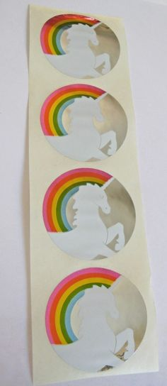 What girl of the 80's didn't have these stickers?