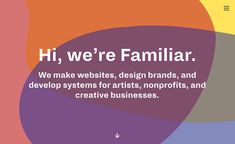 We make websites, launch brands, and develop application systems for artists, nonprofits, and creative businesses. Web Design Agency, Branding Design, Non Profit, Creative Business, Artists, Big, How To Make, Brand Design, Identity Branding