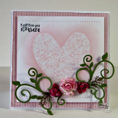 Created with Our Daily Bread Designs Fanciful Flourish Die and Heart of Joy stamp set