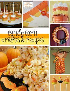 10 Fun Candy Corn Crafts & Recipes