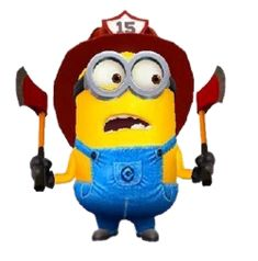 Minion Rush, Minion 2, Despicable Minions, Firefighter, Fictional Characters, Fire Fighters, Fantasy Characters, Firefighters