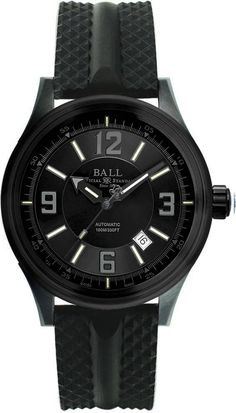 Ball Watch Company Fireman Racer DLC #bezel-fixed #bracelet-strap-rubber #brand-ball-watch-company #case-material-black-pvd #case-width-43mm #clasp-type-tang-buckle #date-yes #delivery-timescale-1-2-weeks #description-done #dial-colour-black #discount-code-allow #gender-mens #luxury #movement-automatic #official-stockist-for-ball-watch-company-watches #packaging-ball-watch-company-watch-packaging #subcat-fireman #supplier-model-no-nm3098c-p1j-bk…