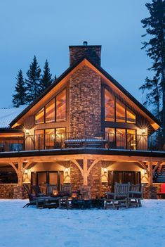 Photo Gallery - Riverbend Timber Frame Home Photos Timber Frame Home Plans, Timber Frame Cabin, Timber House, Timber Frames, Mountain Home Exterior, Dream House Exterior, Log Cabin Exterior, Cabin House Plans, Log Cabin Homes