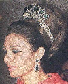 Farah Pahlavi Empress Seven Emeralds Tiara