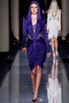 Azul, en toda su expresión Atelier Versace