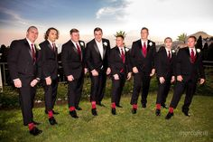 The Groom and the Groom's men.