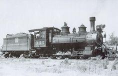 Narrow Gauge C-19 Steam Locomotive, D&RGW No. 346