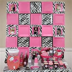 Pink u0026 Zebra Graduation Cupcake and Candy Ideas - Party City  sc 1 st  Pinterest & pink and black zebra party - birthday is coming up - i can mimic ...