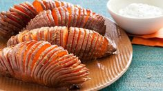 Explore the versatility of nutrient-packed sweet potatoes with these creative and satisfying recipe ideas from Food Network. Our Best Healthy Sweet Potato Recipes : Food Network pamelapietro POTATOES Explore the versatility of nutrient- Potato Sides, Potato Side Dishes, Healthy Side Dishes, Side Dish Recipes, Vegetable Recipes, Vegetarian Recipes, Cooking Recipes, Healthy Recipes, Healthy Sides