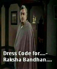 Dress code for Raksha bandhan!