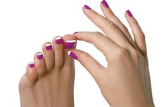 cute toe nails art designs pictures