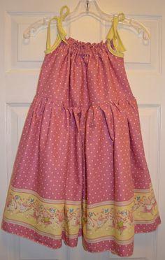 HighWaisted Pillowcase dress