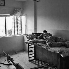 Secluded on the top floor of a bombed-out four-story apartment building north of war-scarred Fallujah, Iraq, Navy SEAL sniper Chris Kyle is just getting comfortable. It's November 2004. Thanksgivin...