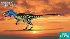 Walking with Dinosaurs: Monolophosaurus by TrefRex.deviantart.com on @DeviantArt