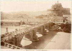 Italia, Roma. Castel S. Angelo 1880