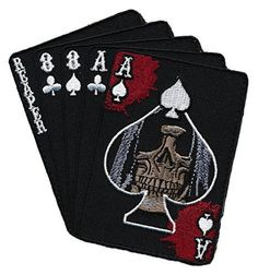 """Currently, the dead man's hand is described as a two-pair poker hand consisting of the black aces and black eights. Along with an unknown """"hole"""" card, these wer"""