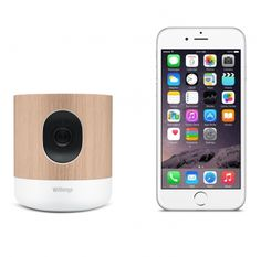 Withings Home HD-camera  SHOP ONLINE: http://www.purelifestyle.be/shop/view/technology/ios-must-haves/withings-home
