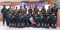 NCC : DG NCC Flags off NCC Boys Mountaineering Expeditio...