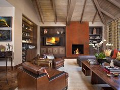 Hollywood Glamour Meets Modern - modern - living room - san diego - Lori Gentile Interior Design