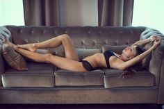 As belas modelos na fotografia fashion de Kadiev Ismail