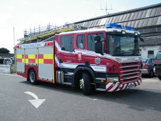 West Sussex Fire and Rescue Service Scania ★。☆。JpM ENTERTAINMENT ☆。★。