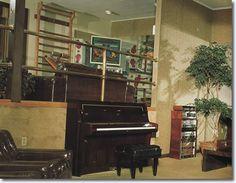 Inside Graceland Upstairs | Elvis Presley's Graceland : 3764 Elvis Presley Boulevard