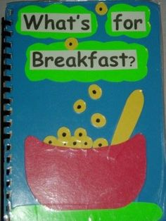 "Dr. Jean Environmental Print Book=kids bring in their fav. cereal box, on bottom print ""Jay likes Cheerios."""