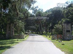 Dade Battlefield Historic Memorial in Sumter County, Florida.