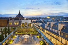 Incredible Paris Roof top garden