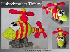 Häkelanleitung, DIY - Hubschrauber Tiffany - Ebook, PDF