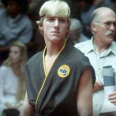 "The first villain I ever loved ❤️❤️n the Billy Zabka made a career of playing a jerk in films like ""Just One of the Guys,"" ""Back to School"" and ""The Karate Kid. The Karate Kid 1984, Karate Kid Movie, Karate Kid Cobra Kai, One Of The Guys, My Kind Of Love, Guys And Girls, Comedy Show, Stand Up Comedy, 80s Movies"