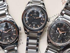 Omega 1957 Speedmaster, Seamaster, & Railmaster 'Trilogy' Watches Hands-On Omega Speedmaster 1957, Omega Seamaster, Bracelet Clasps, Link Bracelets, Rolex, Baselworld 2017, Omega Railmaster, Moon Watch, Dream Watches