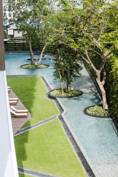 of Baan Plai Haad / Steven J. Leach Architects - 17 Gallery - Baan Plai Haad / Steven J. Leach Architects - - Baan Plai Haad / Steven J. Modern Landscape Design, Landscape Architecture Design, Landscape Plans, Modern Landscaping, Urban Landscape, Garden Landscaping, Landscaping Company, Tropical Landscaping, Swimming Pool Designs