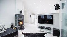 Scandinavian style luxury living room