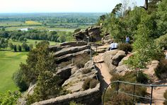 Hawkstone Park Follies - one of the original tourist attractions in the UK.