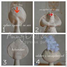 Pupa sedentário (Exemplo Sadovoi Beregini) - Mestrado Feira - artesanal, Feito à Mão