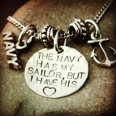 well... i'm an army wife, but this could work for that too. ♥